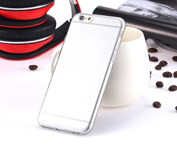TPU case ultradun transparant iPhone 6