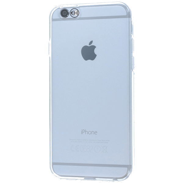 TPU case ultradun transparant iPhone 6 / 6s