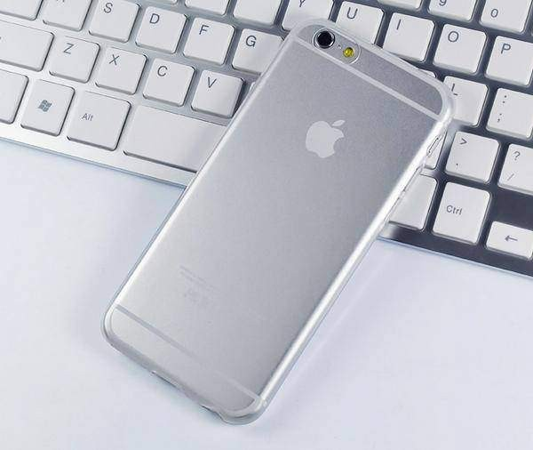 TPU case ultradun transparant iPhone 6 / 6s Plus