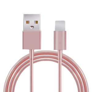 Lightning / USB-kabel iOS roze