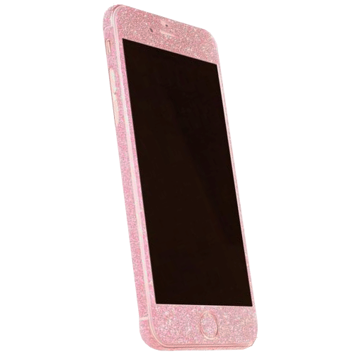 Glitter Sticker Roze iPhone 6 Plus / 6s Plus