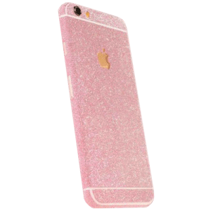 Glitter Sticker Roze iPhone 6 / 6s