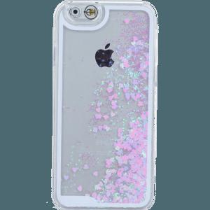 Hartjes Glitter Hoesje iPhone 5