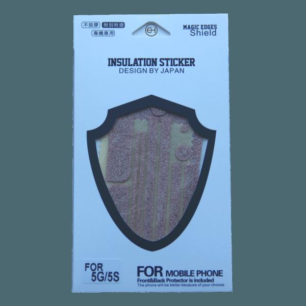 Glitter Sticker Roze iPhone 5 / 5s