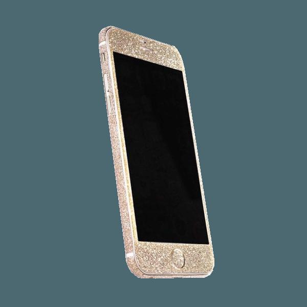 Glitter Sticker Goud iPhone 6 / 6s