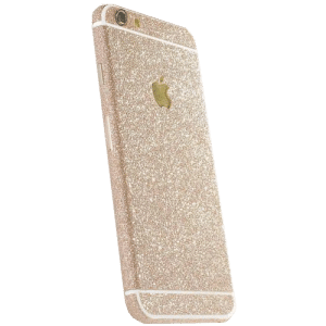 Glitter Sticker Goud iPhone 6 Plus / 6s Plus