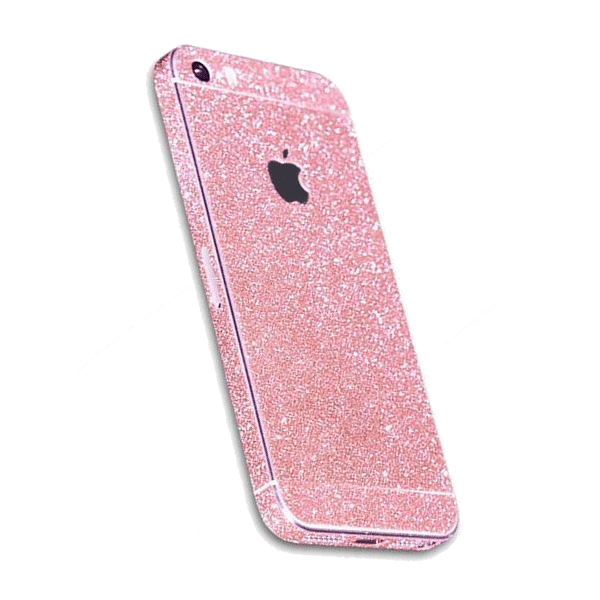Glitter Sticker Roze iPhone 5 / 5s / SE
