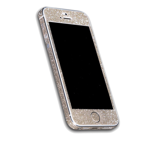 Iphone 5s hoesje goud