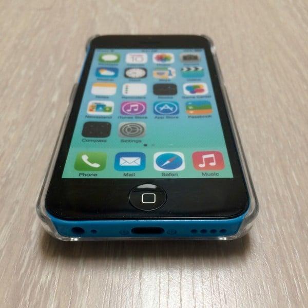 Hartjes Glitter Hoesje iPhone 5C