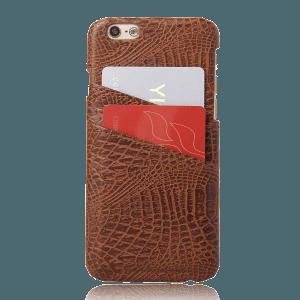 Pashouder Hoesje Bruin iPhone 6 / 6s