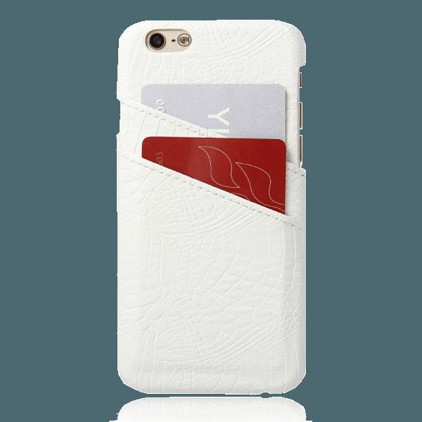 Pashouder Hoesje Wit iPhone 5 / 5s / SE