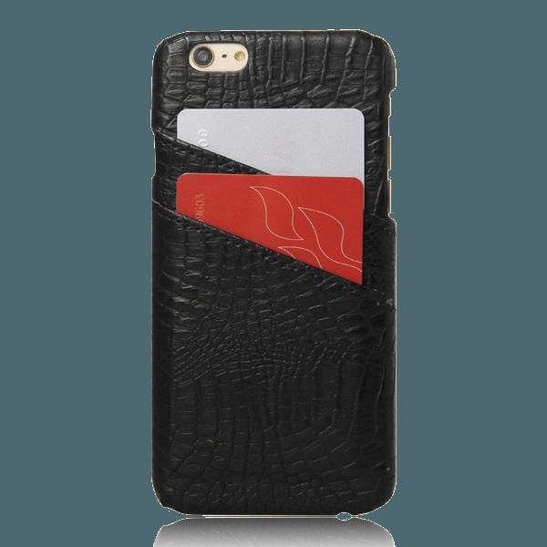 Pashouder Hoesje Zwart iPhone 6 / 6s