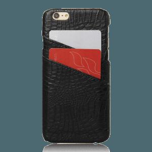 Pashouder Hoesje Zwart iPhone 6 Plus / 6s Plus