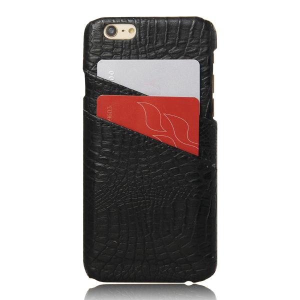 Pashouder Hoesje Zwart iPhone 5 / 5s / SE