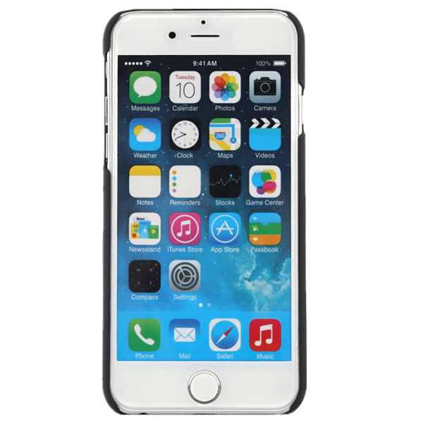 Spiegel Hoesje Zwart iPhone 6 / 6s