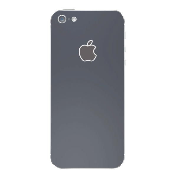 Mat Zwart Sticker iPhone 5 / 5s / SE