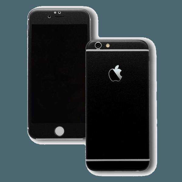 Mat Zwarte Sticker iPhone 6 / 6s