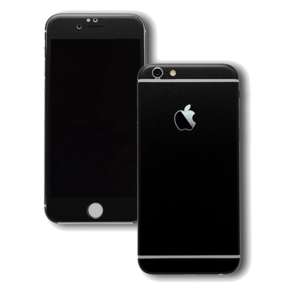 Mat Zwarte Sticker iPhone 6 Plus / 6s Plus