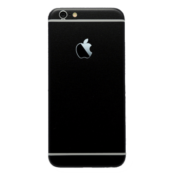 Mat Zwart Sticker iPhone 6 / 6s