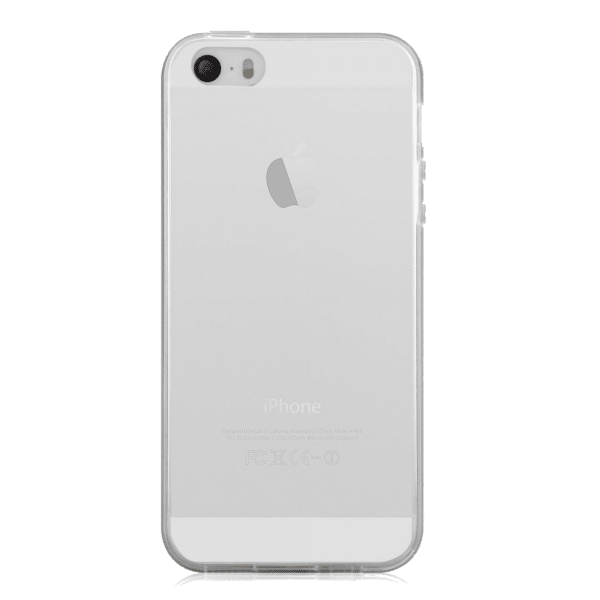 TPU case ultradun transparant iPhone 5 / 5s / SE