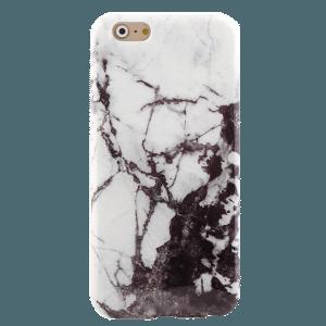 Marmer Hoesje Zwart iPhone 6 Plus / 6s Plus