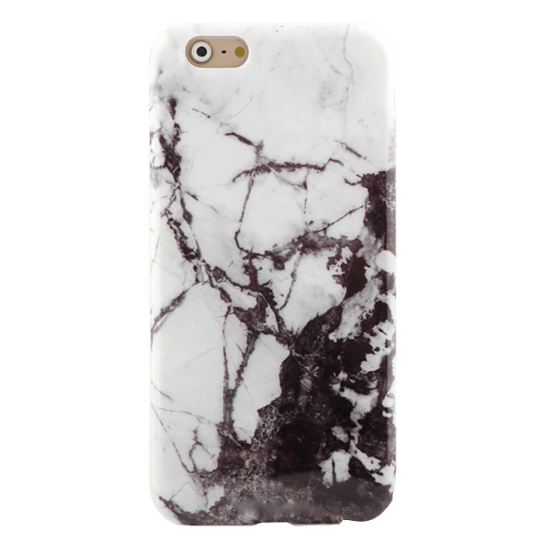 Marmer Hoesje Zwart iPhone 6 Plus / 6s Plus