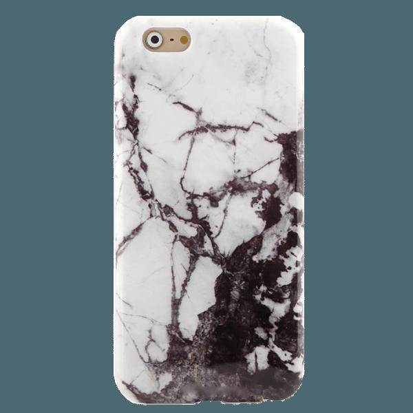 Marmer Hoesje Zwart iPhone 6 / 6s