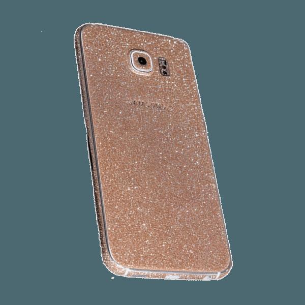 Glitter Sticker Goud Galaxy S7