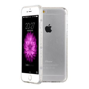 TPU case ultradun kristal iPhone 6 / 6s