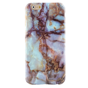 Marmer Hoesje Turquoise iPhone 6 / 6s