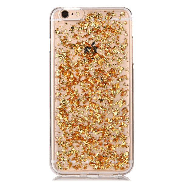 Bladgoud Hoesje iPhone 5 / 5s / SE