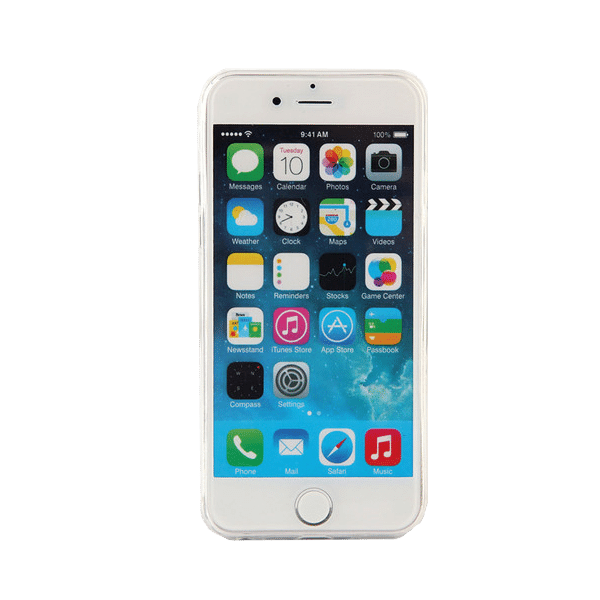 Marmer Hoesje Blauw iPhone 6 Plus / 6s Plus