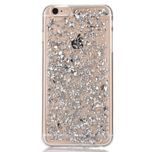 Bladzilver Hoesje iPhone 5 / 5s / SE