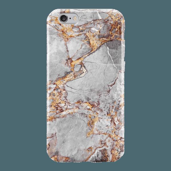 Marmer Hoesje Goud iPhone 6 / 6s