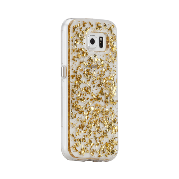 Bladgoud Hoesje Galaxy S6 Edge