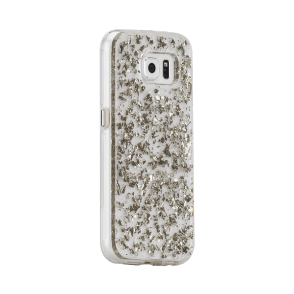 Bladzilver Hoesje Galaxy S6