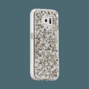 Bladzilver Hoesje Galaxy S7 Edge