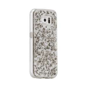 Bladzilver Hoesje Galaxy S6 Edge