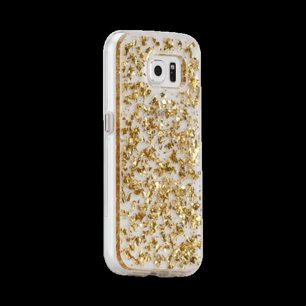 Bladgoud Hoesje Galaxy S7 Edge