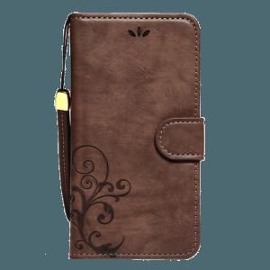 Boek Hoesje Donkerbruin iPhone 6 Plus / 6s Plus
