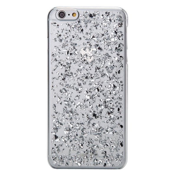 Bladzilver Hoesje iPhone 6 Plus / 6s Plus
