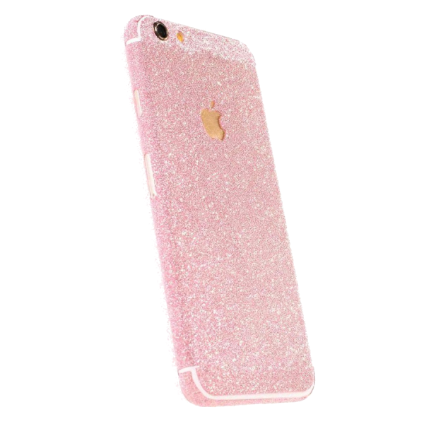 Glitter Sticker Roze iPhone 7