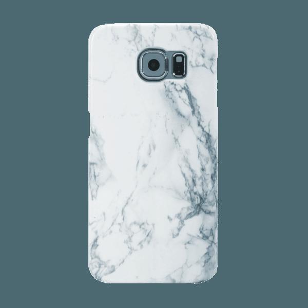 Marmer Hoesje Wit Galaxy S7 Edge