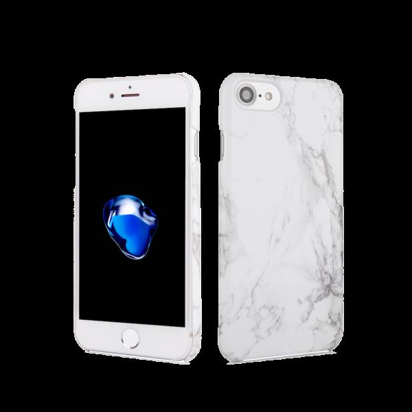 Marmer Hoesje Wit iPhone 7