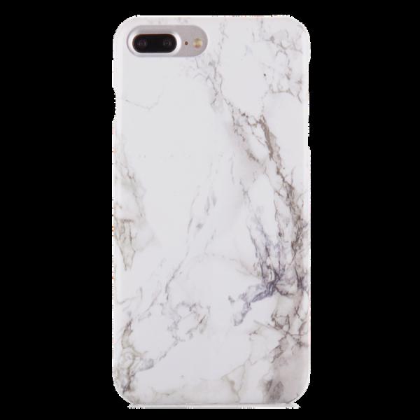 Marmer Hoesje Wit iPhone 7 Plus