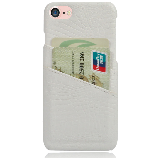 Pashouder Hoesje Wit iPhone 7