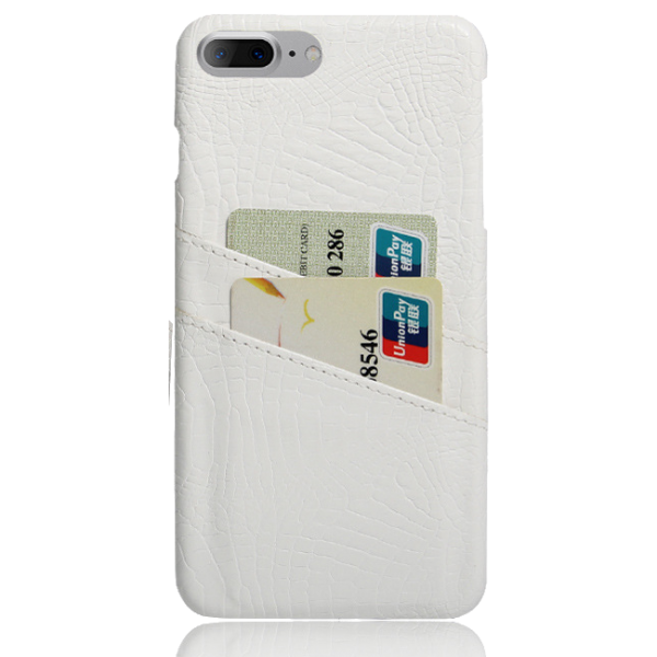 Pashouder Hoesje Wit iPhone 7 Plus
