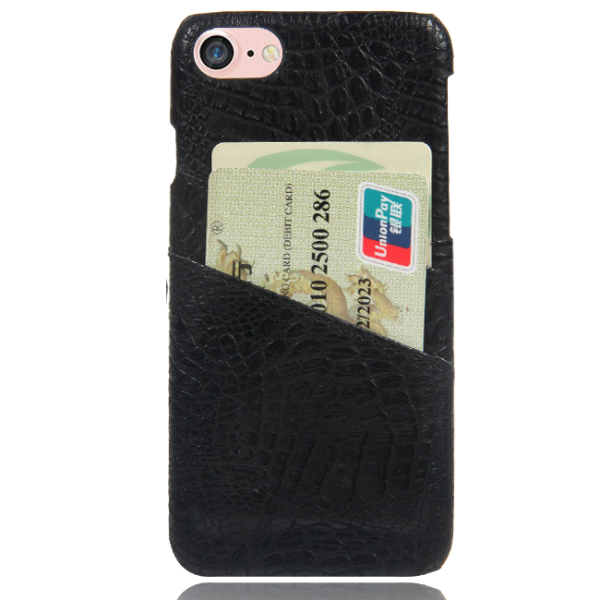 Pashouder Hoesje Zwart iPhone 7