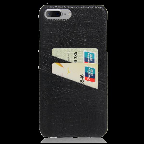 Pashouder Hoesje Zwart iPhone 7 Plus
