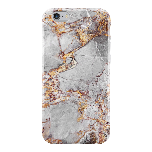 Marmer Hoesje Goud iPhone 7